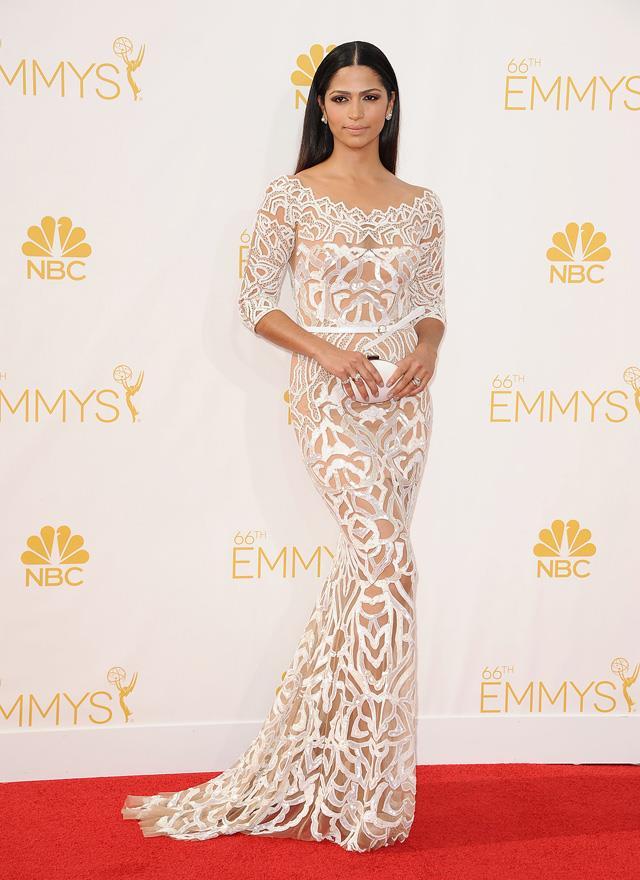 12. Camila Alves at the 2014 Emmys in Zuhair Murad.