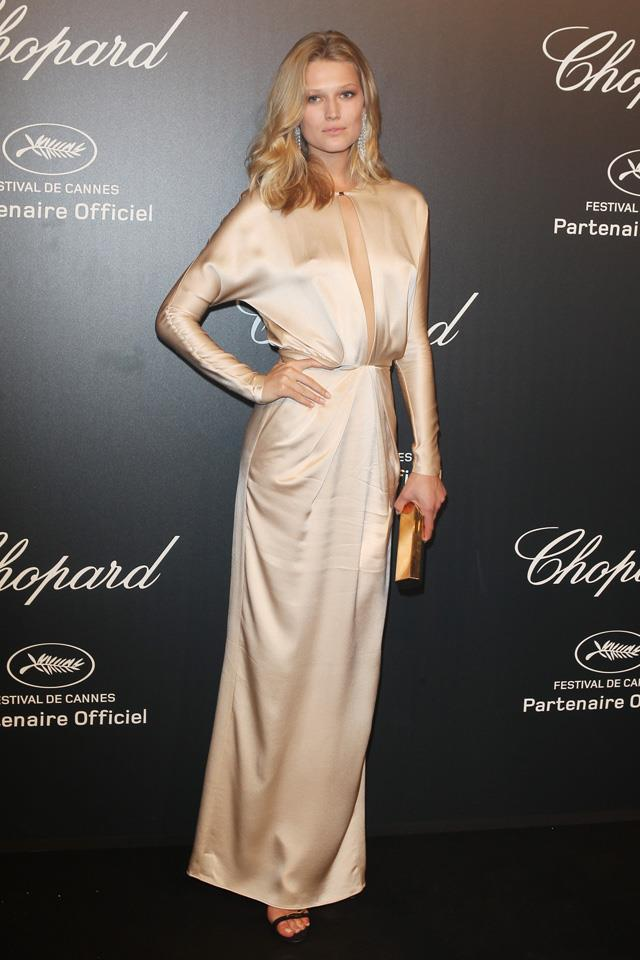 14. Toni Garrn at Cannes in 2015.