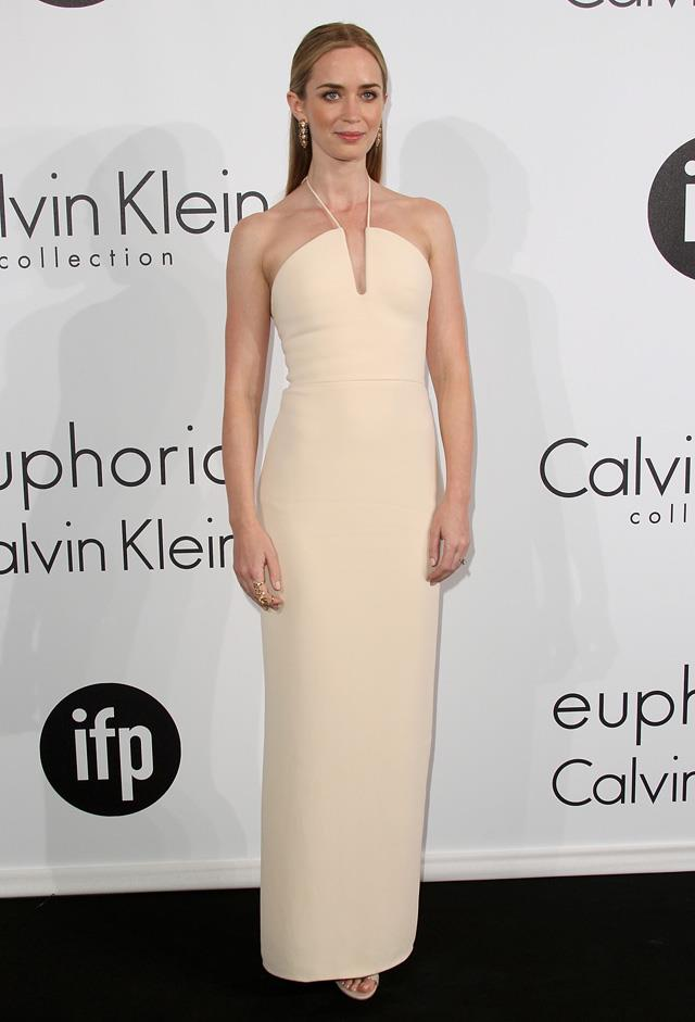 15. Emily Blunt attends the Calvin Klein party during the 68th Cannes Film Festival.