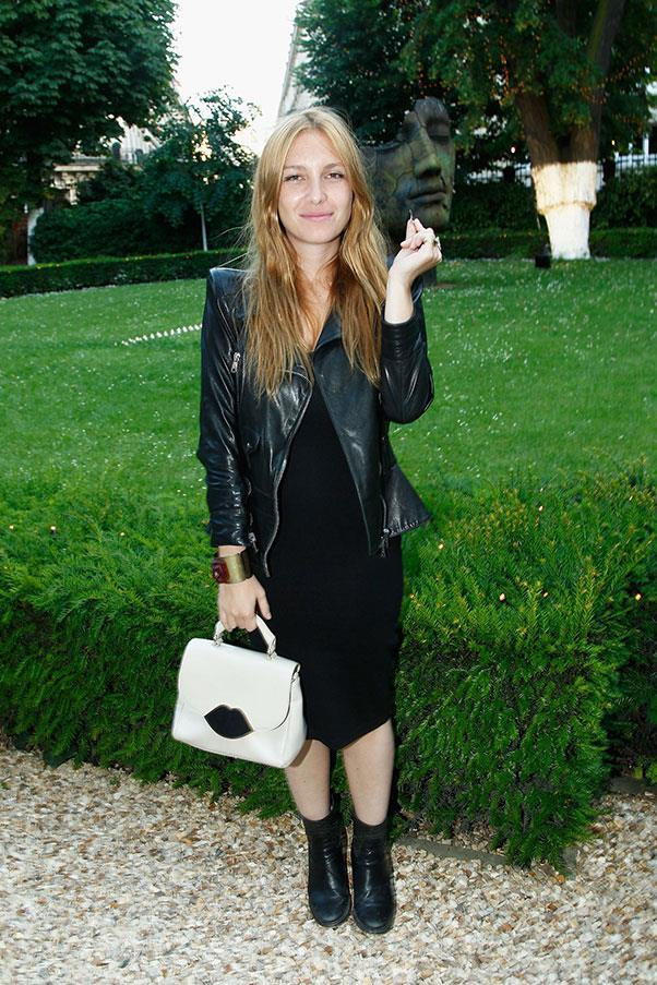 """<strong>JOSEPHINE DE LA BAUME</strong><BR><BR> """"French girls don't wash their hair as much as you girls do here [in the UK] and they don't wear much make-up. Everything is very discreet, except for nonchalant touches–say a bag or a pair of shoes. - to <a href=""""http://www.glamourmagazine.co.uk/fashion/celebrity-fashion/2012/11/french-style-icons/viewgallery/701130""""><em>Glamour</em> UK</a>"""