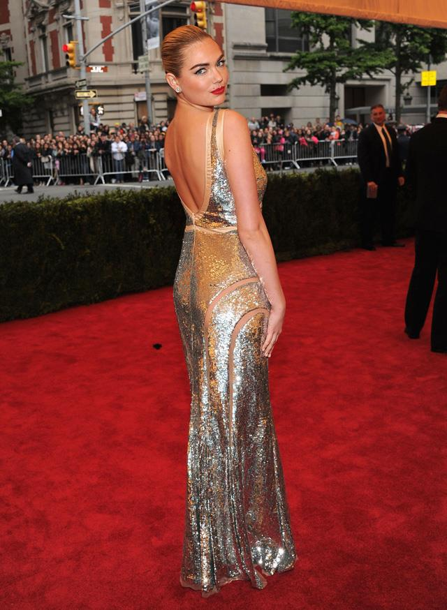 """<strong>May, 2012 </strong> <br><br> Kate arriving to the Costume Institute Gala. <br><br> Photographer Victor Demarchelier says Kate's energy on set """"makes everyone's job easier."""""""