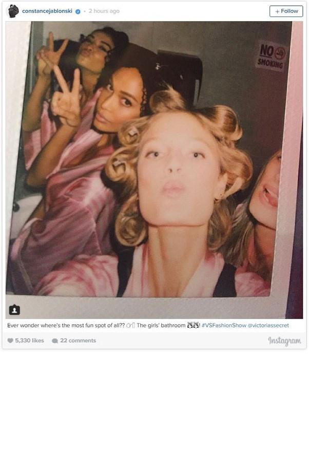"""<strong>SHANINA SHAIK, JOAN SMALLS, CONSTANCE JABLONSKI AND ELSA HOSK</strong><BR><BR> Instagram <a href=""""https://instagram.com/constancejablonski/"""">@constancejablonski</a>"""