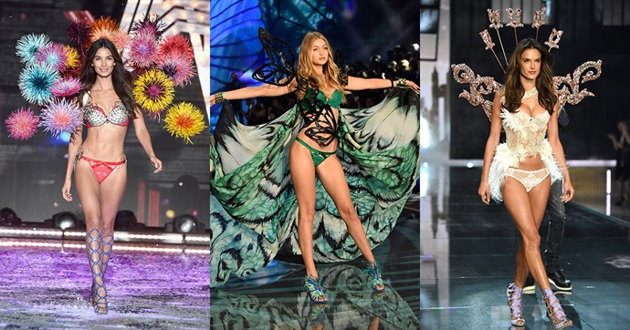 All the looks from the Victoria's Secret fashion show 2015.