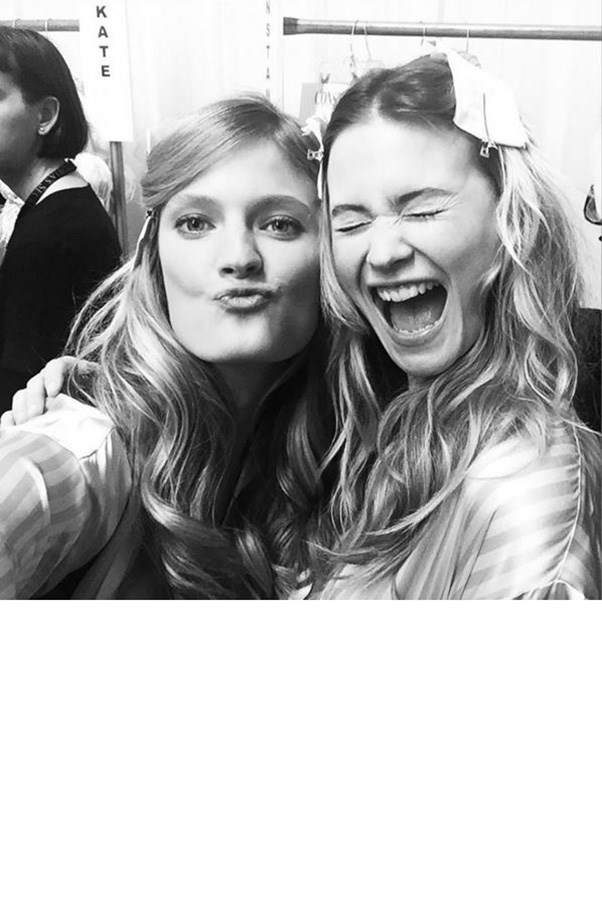 """<strong>CONSTANCE JABLONSKI AND BEHATI PRINSLOO</strong><BR><BR> """"Guess who's the coolest chic in town who is going to ROCK the opening of the show this year again?? 👉🏻👉🏻 @behatiprinsloo #whoopwhoop 👏🏻❤️👏🏻#VSFashionShow""""<BR><BR> Instagram <a href=""""https://instagram.com/constancejablonski/"""">@constancejablonski</a>"""