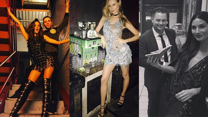 The best Instagram moments from the 2015 Victoria's Secret fashion show and after party.