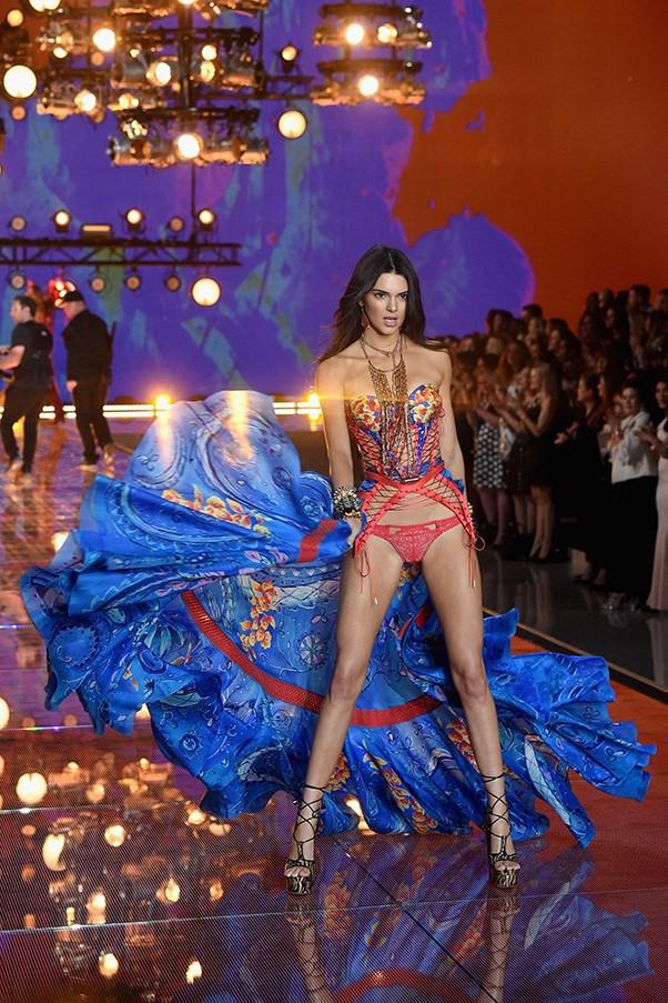 Kendall Jenner made her Victoria's Secret show debut, alongside her model bestie...