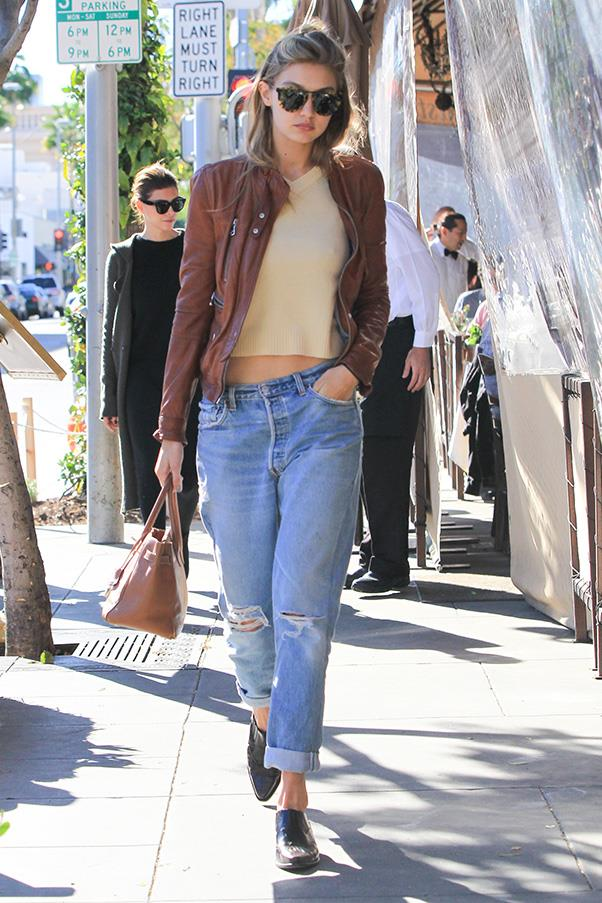 Cali-cool style off-duty in Los Angeles.