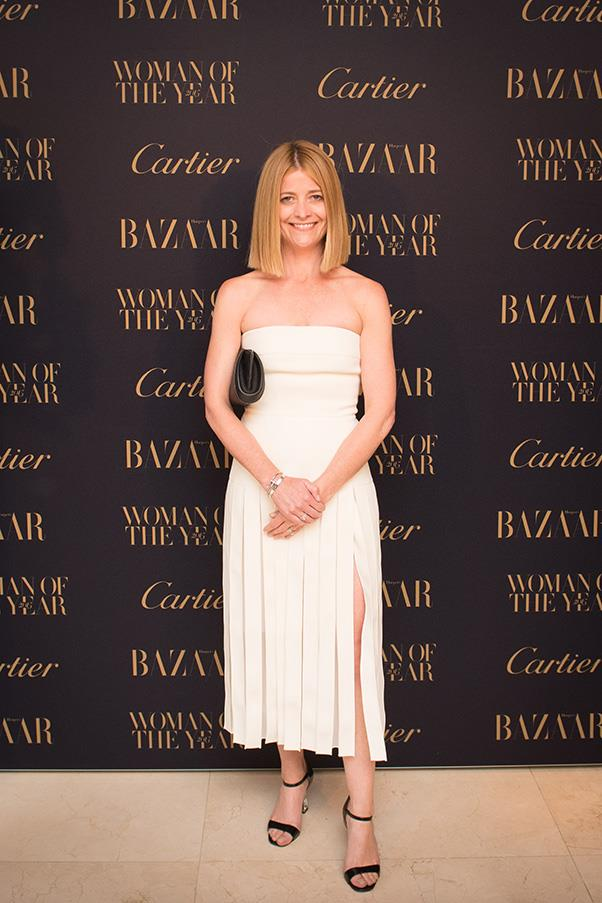 <em>Harper's BAZAAR</em>'s editor-in-chief Kellie Hush