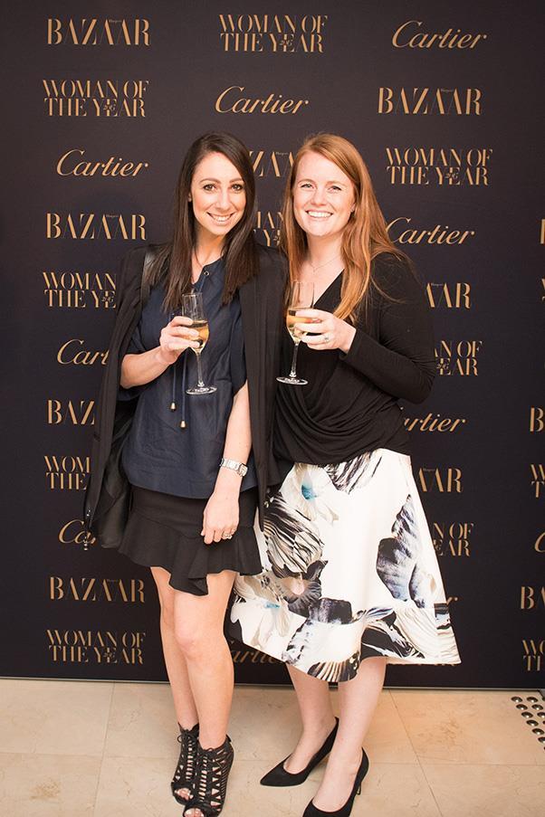 Bauer's Jaclyn Hadida and Nicole Harris