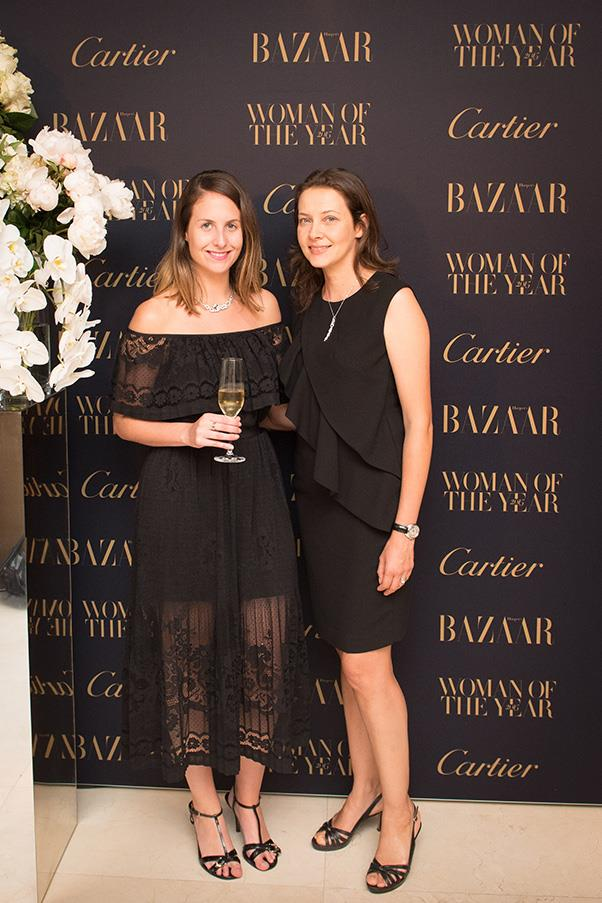 Cartier's Kate Beard and Isabelle About