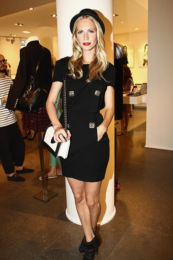 <strong>1. THE CHANEL 'BOY' BAG</strong><BR><BR> Poppy Delevingne