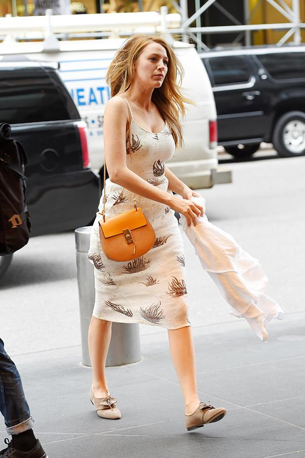 <strong>2. THE CHLOÉ  'DREW' BAG</strong><BR><BR> Blake Lively