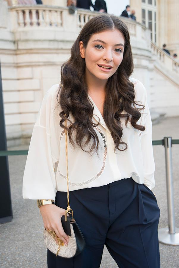 <strong>2. THE CHLOÉ  'DREW' BAG</strong><BR><BR> Lorde