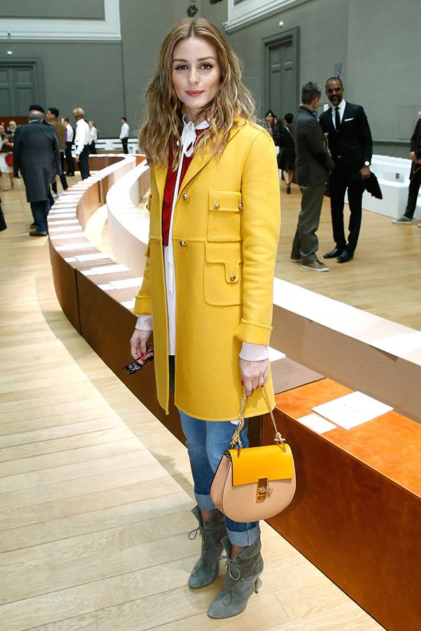 <strong>2. THE CHLOÉ  'DREW' BAG</strong><BR><BR> Olivia Palermo