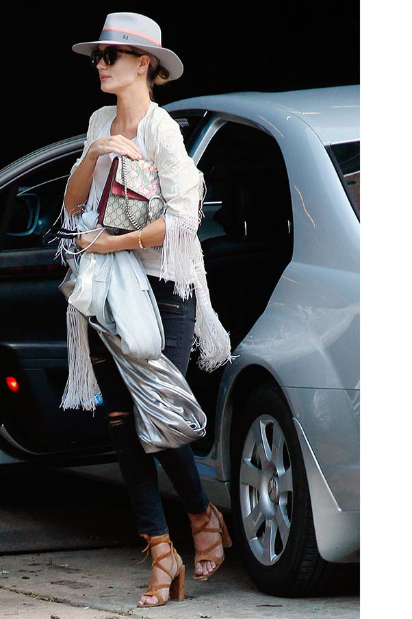 <strong>5. THE GUCCI 'DIONYSUS' BAG</strong><BR><BR> Rosie Huntington-Whiteley