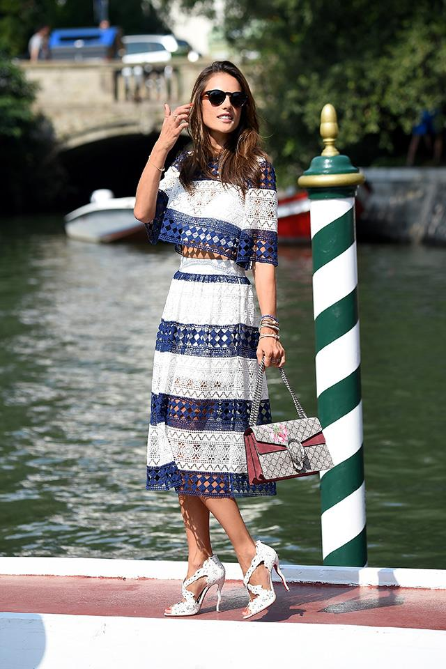 <strong>5. THE GUCCI 'DIONYSUS' BAG</strong><BR><BR> Alessandra Ambrosio