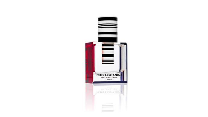 """<strong>Floral scents:</strong> <br><br> """"If you are fan of big floral smells and you are going with a traditional themed wedding, look within the range of classic floral scents. <br><br> Balenciaga Florabotanica, $125, from <a href=""""http://www.myer.com.au/shop/mystore/balenciaga-florabotanica-edp"""">Myer</a> <br><br> <strong>Tip:</strong> <em>When beginning to look for your wedding day fragrance, start by looking at fragrances you've worn and loved before, but to create a new scent-memory association opt for a different fragrance in the same fragrance family as your other preferences. <br><br> To help you choose, look at the candles you burn, the shower gels and body lotions you choose, because these will all give you clues about your subliminal preferences.""""</em>"""