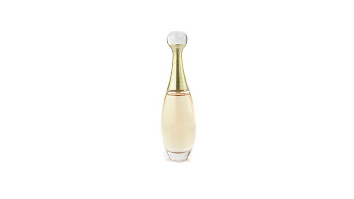 """<strong>Fresh and relaxed </strong> <br><br> Dior J'adore Eau de Parfum, $99, from <a href=""""http://www.myer.com.au/shop/mystore/dior-jadore-eau-de-parfum-spray-602882030-972569600"""">Myer</a> <br><br> <strong>Tip:</strong> <em>""""It can take up to 24 hours for a fragrance to develop fully, so in order to experience all facets, you need to allow the fragrance time – check the blotters as they dry down.""""</em>"""