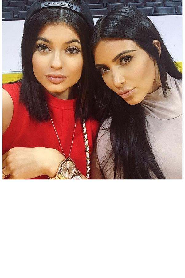 "<strong>Kendall, who is Kylie's style icon?</strong> <br><br> That's a tough one... I'm gonna go with ... Kim Kardashian West. <br><br> <a href=""https://instagram.com/p/3r4M-8HGjS/"">@kyliejenner</a>"