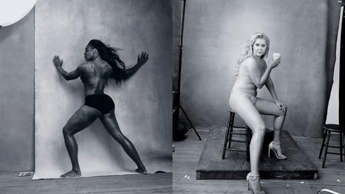 The first pictures from the 2016 Pirelli calendar have been released, and photographer Annie Leibovitz has given things a feminist-themed shake up.