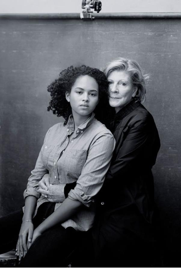 <strong>AGNES GUND AND SADIE RAIN HOPE-GUND</strong><BR><BR> Agnes is the president emerity and chairman of MoMA's international council, her grandaughter Sadie is a photography student.