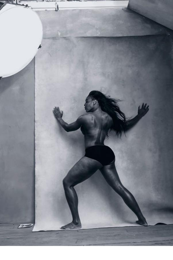 <strong>SERENA WILLIAMS</strong><BR><BR> 21 Grand Slam-winning tennis player.