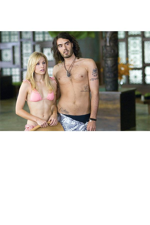 <strong><em>Forgetting Sarah Marshall</em>, 2008</strong> <br><br> We can never forget Sarah Marshall, played by actress Kristen Bell, in this Dior baby pink string bikini. If only her good taste extended to her choice of boyfriends...