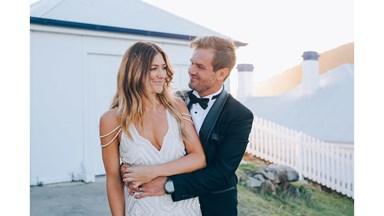 BAZAAR Real Bride: Krystel and Drew