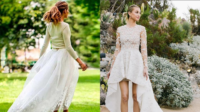Take inspiration from these beautifully unconventional brides.