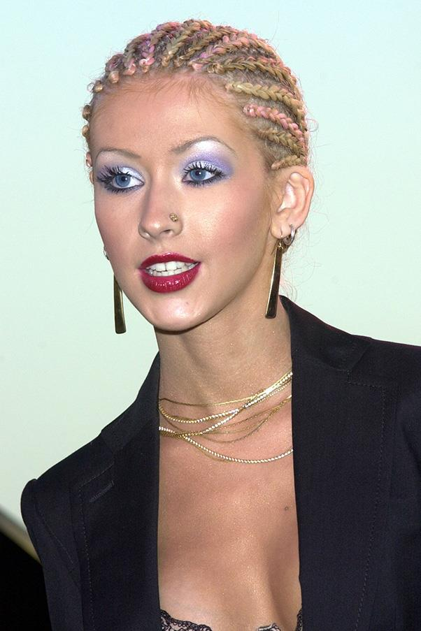 <strong>2. BLUE EYESHADOW</strong><BR><BR> Hands up if you breathed a sigh of relief when blue eyeshadow went out of fashion? Us too. Turns out it's back - but don't worry, the risk of looking like a '90s pop star at the VMAs is minimal.