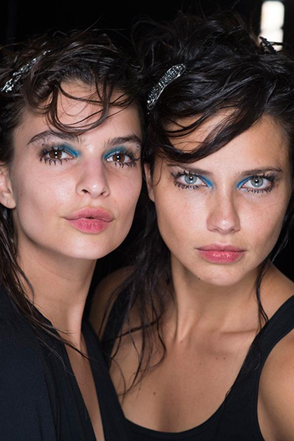 <strong>2. BLUE EYESHADOW</strong><BR><BR> Marc Jacobs S/S 2016