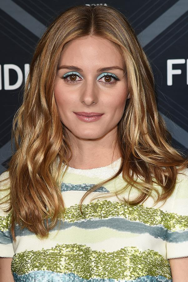 <strong>2. BLUE EYESHADOW</strong><BR><BR> Olivia Palermo