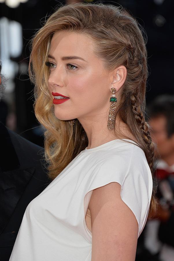 <strong>3. BRAIDS</strong><BR><BR> Amber Heard
