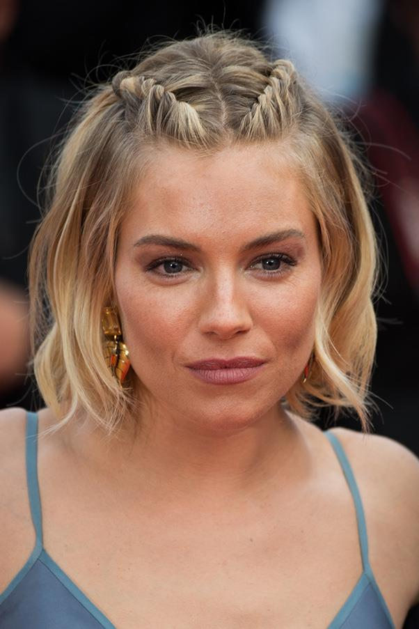 <strong>3. BRAIDS</strong><BR><BR> Sienna Miller