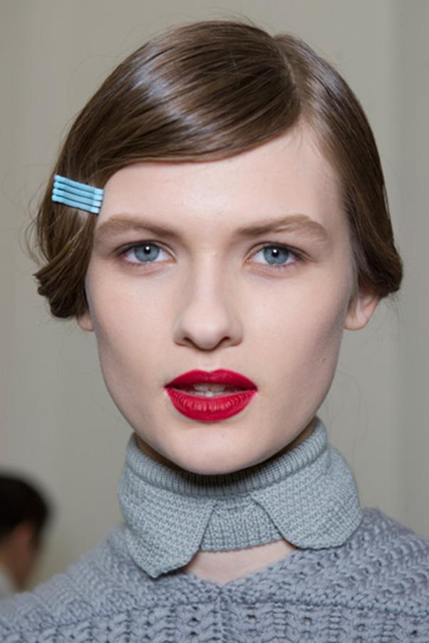 <strong>6. VISIBLE HAIR ACCESSORIES</strong><BR><BR> Cacharel S/S 2012