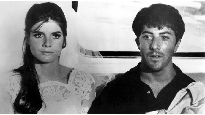 "<strong>2. THE GRADUATE (1967)</strong><br><br> Endlessly parodied, <em>The Graduate</em> is one of the most iconic romances in Hollywood history. Who knew ""boy has affair with older married woman then falls in love with her daughter"" could be so romantic? Extra props for the chic '60s costumes and Simon and Garfunkel-heavy soundtrack."