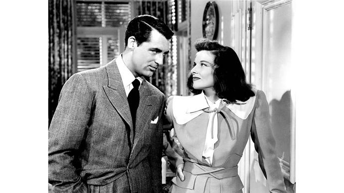<strong>10. THE PHILADELPHIA STORY (1940)</strong><br><br> The Philadelphia Story is essentially the cornerstone for all good romantic comedies. Ultimate legend Katharine Hepburn basically gets drunk/ is generally independent while Cary Grant and James Stewart fight over her.
