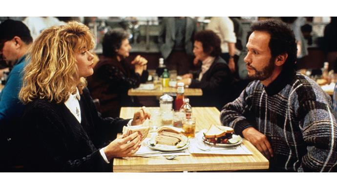 "<strong>13. WHEN HARRY MET SALLY</strong><br><br> ""Can men and women be friends?"" Asks late legend Nora Ephron, screenwriter of When Harry Met Sally. No, apparently, but we don't care, as long as these two ended up together."