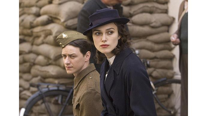 <strong>19. ATONEMENT (2007)</strong><br><br> This World War I-set tragedy centers around a string of tragic events that all begin with a single lie. <em>That</em> green dress, and <em>that </em>bookcase are bound to go down in history as one of the best sex scenes of all time.