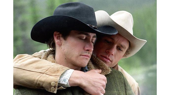 <strong>22. BROKEBACK MOUNTAIN (2005)</strong><br><br> Ang Lee's groundbreaking '60s era Western romance broke all sorts of boundaries, and proved Hollywood was ready for a same-sex love story.