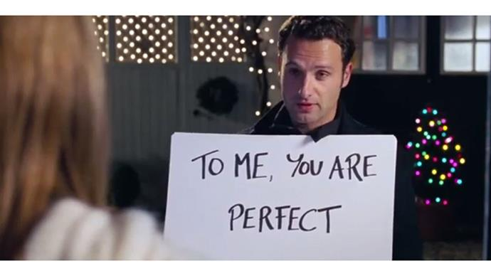 <strong>24. LOVE ACTUALLY (2003)</strong><br><br> If you don't watch this film <em>every</em> Christmas (meaning you've watched it at least 12 times), you're doing Christmas wrong. <em>Every</em> love story in this movie - with the possible exception of that guy who goes to America to sleep around - is so romantic.