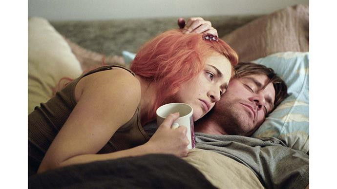 <strong>26. ETERNAL SUNSHINE OF THE SPOTLESS MIND (2004)</strong><br><br> Jim Carrey gives an uncharacteristically dramatic performance against Kate Winslet in this off-kilter romantic comedy by French director Michel Gondry.