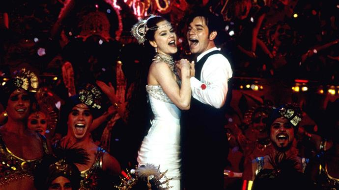 <strong>27. MOULIN ROGUE! (2001)</strong><br><br> Baz Luhrmann called on Ewan McGregor and Nicole Kidman to star in his bohemian-era Paris-set musical, about a prostitute who falls in love with a writer. So. Sad.