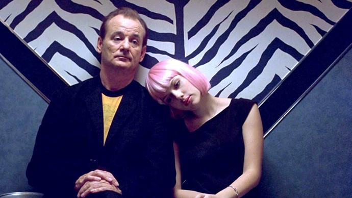 "<strong>50. LOST IN TRANSLATION (2003)</strong><br><br> Sure, it's not strictly a ""love story"", but there's something so romantic about the interactions between Bill Murray and Scarlett Johansson in Sofia Coppola's Oscar-winning classic."