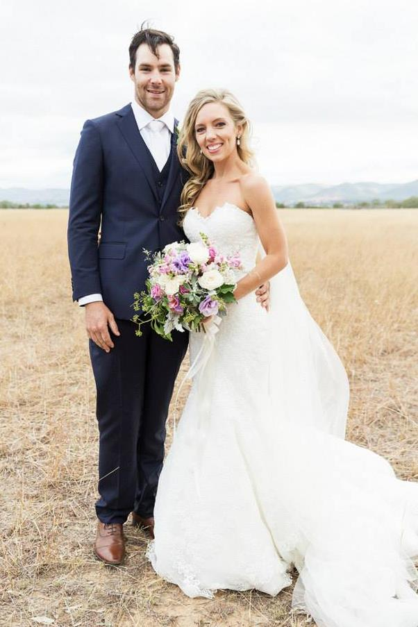 Inside the Mudgee country wedding of Sarah and Lex Fairley.
