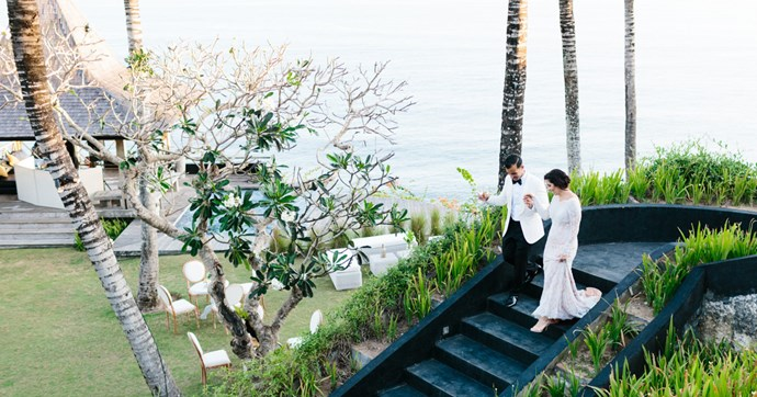 Inside the Balinese wedding of Sarah and Rabb.