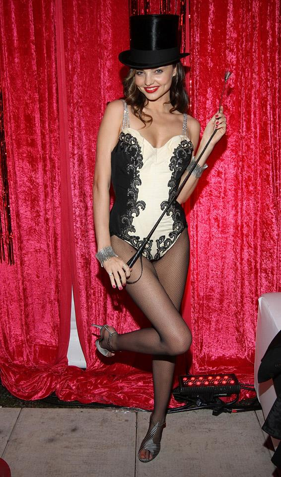 <strong>October 31, 2011</strong><br><Br> Hands up who remembers the time Miranda threw a 'Sexy Circus Halloween Party'? Nicole Trunfio, Chrissy Teigen and Kate Upton were all in attendance.