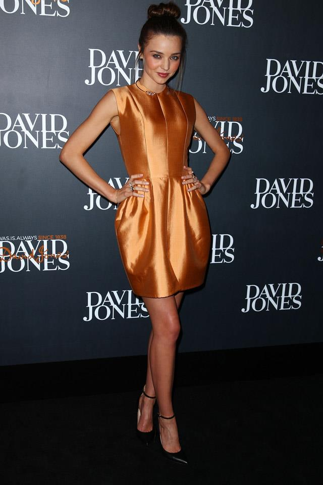 <strong>February 6, 2013</strong><br><br> Miranda wore an Ellery number to the season launch of David Jones' A/W13 collection.
