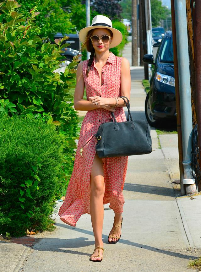 <strong>June 27, 2013</strong><br><br> Miranda opted for a low-key, beachy look while off-duty in New York.