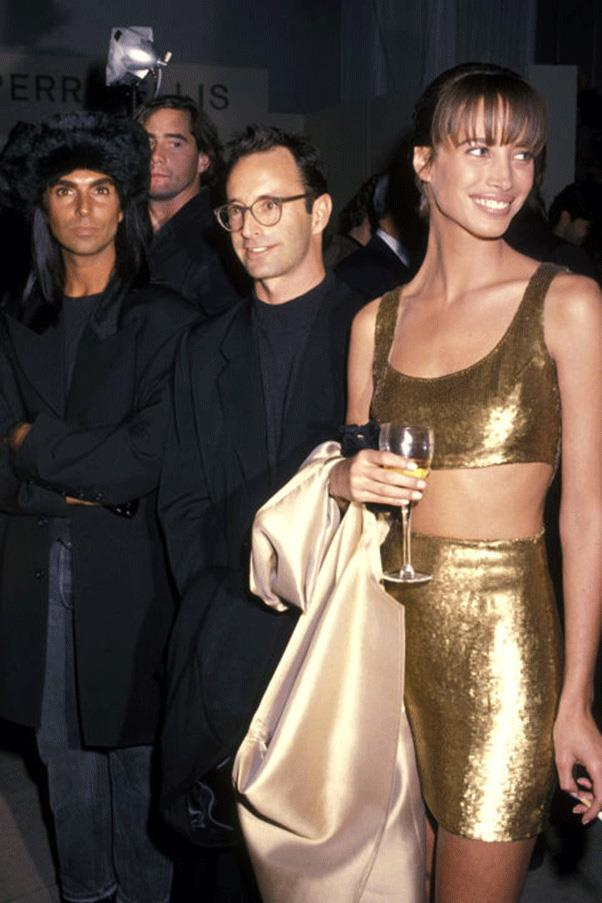 <strong>ALL THE WAY TO THE CROP</strong><br><br> Christy Turlington